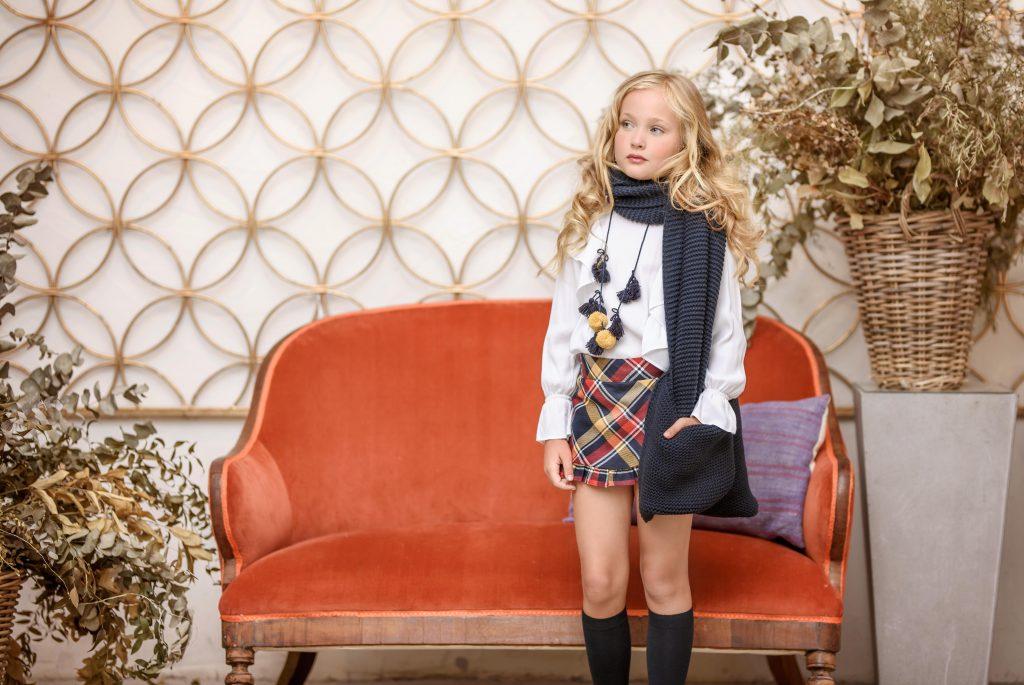 tendencias de moda infantil en la colección otoño-invierno 2021